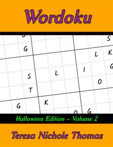 Wordoku Halloween Edition Volume 2 Cover
