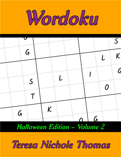 Wordoku Halloween Edition Volume 2 Cover