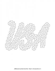 aMAZing Americana Mazes Puzzle Book Volume 1 Pic 02