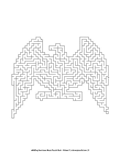 aMAZing Americana Mazes Puzzle Book Volume 1 Pic 03