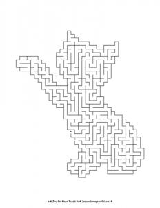 aMAZing Cat Mazes Puzzle Book Volume 1 Pic 04