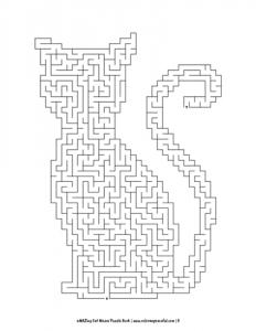 aMAZing Cat Mazes Puzzle Book Volume 1 Pic 05
