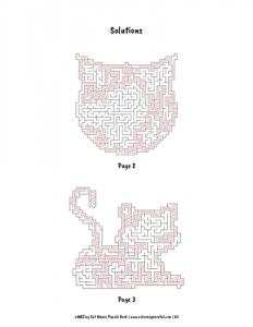 aMAZing Cat Mazes Puzzle Book Volume 1 Pic 07