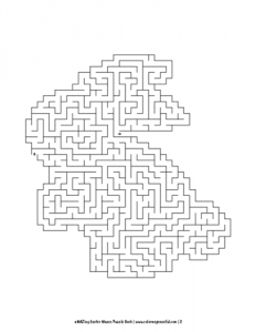 aMAZing Easter Mazes Puzzle Book Volume 1 Pic 02