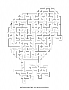aMAZing Easter Mazes Puzzle Book Volume 1 Pic 05