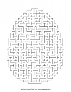aMAZing Easter Mazes Puzzle Book Volume 1 Pic 06