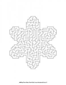aMAZing Flower Mazes Puzzle Book Volume 1 Pic 05