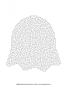 aMAZing Halloween Mazes Puzzle Book Volume 1 Pic 03