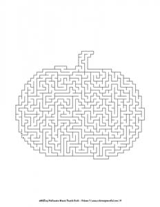 aMAZing Halloween Mazes Puzzle Book Volume 1 Pic 04