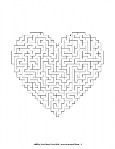 aMAZing Heart Mazes Puzzle Book Volume 1 Pic 04