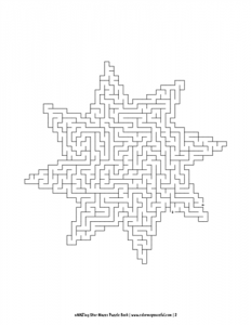 aMAZing Star Mazes Puzzle Book Volume 1 Pic 02