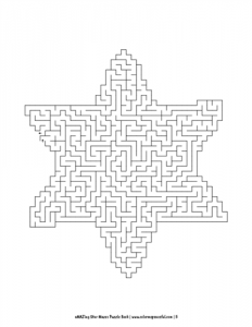 aMAZing Star Mazes Puzzle Book Volume 1 Pic 05