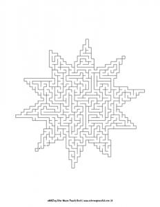 aMAZing Star Mazes Puzzle Book Volume 1 Pic 06