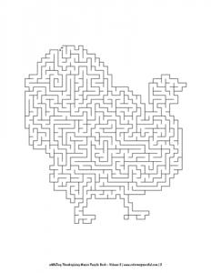 aMAZing Thanksgiving Mazes Puzzle Book Volume 2 Pic 02