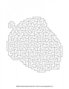 aMAZing Thanksgiving Mazes Puzzle Book Volume 2 Pic 03